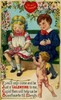 Thumbnail Vintage Girl And Boy Valentines Day Image