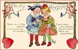 Thumbnail Vintage Valentines Day Children Image