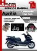Thumbnail Aprilia Leonardo 250 300 2000-2004 Service Repair Manual Download