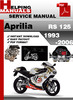 Thumbnail Aprilia RS 125 1993-2006 Service Repair Manual Download