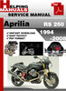 Thumbnail Aprilia RS 250 1994-2008 Service Repair Manual Download