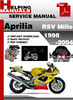 Thumbnail Aprilia RSV Mille 1998-2004 Service Repair Manual Download