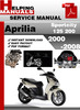 Thumbnail Aprilia Sportcity 125 200 2000-2008 Service Repair Manual Download