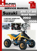 Thumbnail Suzuki ATV  LT 250 Quad Sport 2002-2009 Service Repair Manual Download