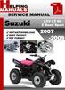 Thumbnail Suzuki ATV LT 90 Z Quad Sport 2007-2009 Service Repair Manual Download