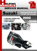 Thumbnail Suzuki Outboard DF 90 100 115 DF 140 4-stroke 2000-2009 Service Repair Manual Download