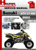 Thumbnail Suzuki ATV LT 400 2002-2012 Service Repair Manual Download