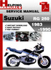 Thumbnail Suzuki RG 250 1983-1990 Service Repair Manual Download