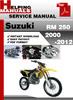 Thumbnail Suzuki RM 250 2003-2012 Service Repair Manual Download
