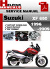 Thumbnail Suzuki XF 650 1996-2006 Service Repair Manual Download
