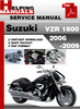 Thumbnail Suzuki VZR 1800 2006-2009 Service Repair Manual Download