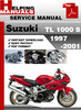 Thumbnail Suzuki TL 1000 S 1997-2001 Service Repair Manual Download