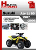 Thumbnail Suzuki ATV LT 80 1987-2006 Service Repair Manual Download