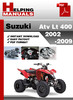 Thumbnail Suzuki ATV LT 400 2002-2009 Service Repair Manual Download