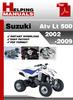 Thumbnail Suzuki ATV LT 500 2002-2009 Service Repair Manual Download