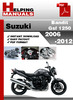 Thumbnail Suzuki Bandit GSF 1250 2006-2012 Service Repair Manual Download