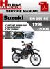 Thumbnail Suzuki DR 200 SE 1996-2009 Service Repair Manual Download