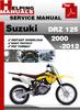 Thumbnail Suzuki DRZ 125 2000-2012 Service Repair Manual Download