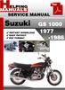 Thumbnail Suzuki GS 1000 1977-1986 Service Repair Manual Download