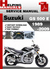 Thumbnail Suzuki GS 500 E 1989-2009 Service Repair Manual Download