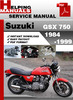 Thumbnail Suzuki GSX 750 1984-1999 Service Repair Manual Download