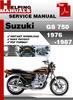Thumbnail Suzuki GS 750 1976-1987 Service Repair Manual Download