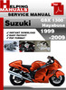 Thumbnail Suzuki GSX 1300 Hayabusa 1999-2009 Service Repair Manual Download