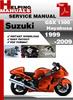 Thumbnail Suzuki GSX 1300 Hayabusa 1999-2009 Service Repair Manual Download