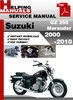 Thumbnail Suzuki GZ 250 Marauder 2000-2010 Service Repair Manual Download
