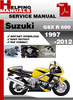 Thumbnail Suzuki GSX R 600 1997-2012 Service Repair Manual Download