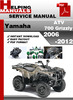 Thumbnail Yamaha ATV 700 Grizzly 2006-2012 Service Repair Manual Download