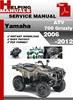 Thumbnail Yamaha ATV 700 Grizzly 2006-2012 Service Repair Manual Download