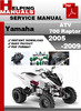 Thumbnail Yamaha ATV 700 Raptor 2005-2009 Service Repair Manual Download