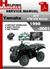 Thumbnail Yamaha ATV YFM 600 Grizzly 1998-2001 Service Repair Manual Download