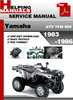 Thumbnail Yamaha ATV YFM 200 1983-1986 Service Repair Manual Download