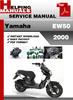 Thumbnail Yamaha EW50 2000 Service Repair Manual Download