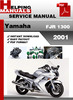 Thumbnail Yamaha FJR1300 2001 Service Repair Manual Download
