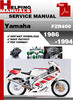 Thumbnail Yamaha FZR400 1986-1994 Service Repair Manuasl Download