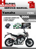Thumbnail Yamaha FZS6 2006-2009 Service Repair Manual Download