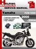 Thumbnail Yamaha FZS1000 2000-2006 Service Repair Manual Download