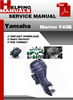 Thumbnail Yamaha Marine F40B Service Repair Manual Download