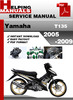 Thumbnail Yamaha T135 2005-2009 Service Repair Manual Download