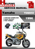 Thumbnail Yamaha TDM850 1996 Service Repair Manual Download