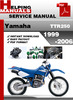 Thumbnail Yamaha TTR250 1999-2006 Service Repair Manual Download