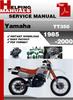 Thumbnail Yamaha TT350 1985-2000 Service Repair Manual Download
