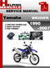 Thumbnail Yamaha WR250FR 1990-2007 Service Repair Manual Download