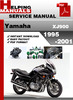 Thumbnail Yamaha XJ900 1995-2001 Service Repair Manual Download