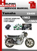 Thumbnail Yamaha XS400 1982-1993 Service Repair Manual Download