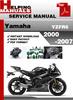 Thumbnail Yamaha YZFR6 2000-2007 Service Repair Manual Download