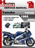 Thumbnail Yamaha YZF600 1995-2000 Service Repair Manual Download
